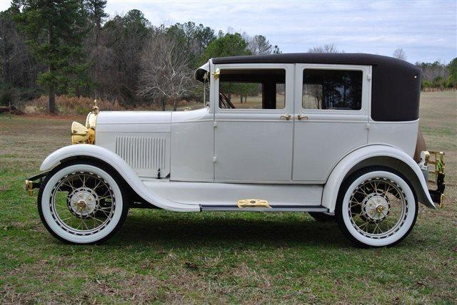 94 1929 Ford Model A Leatherback a