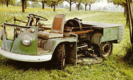 vw lawn mower