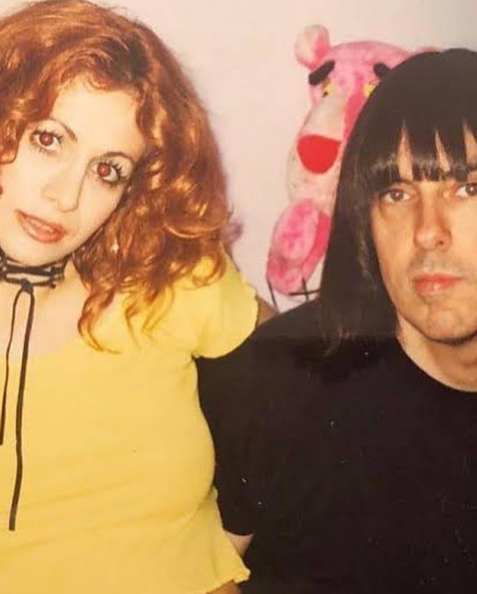 RAMONES JOHNNY AND WIFE